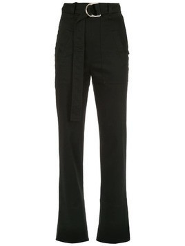 Gloria Coelho straight fit trousers - Black
