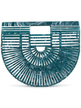 Cult Gaia Ark clutch bag - Blue