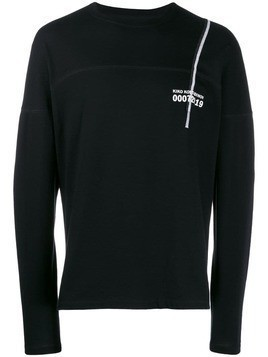 Kiko Kostadinov graphic long-sleeved T-shirt - Black