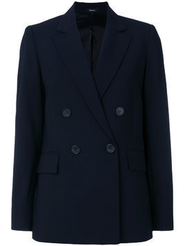 Theory buttoned military blazer - Blue