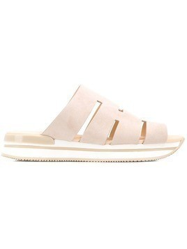 Hogan platform sandals - Neutrals