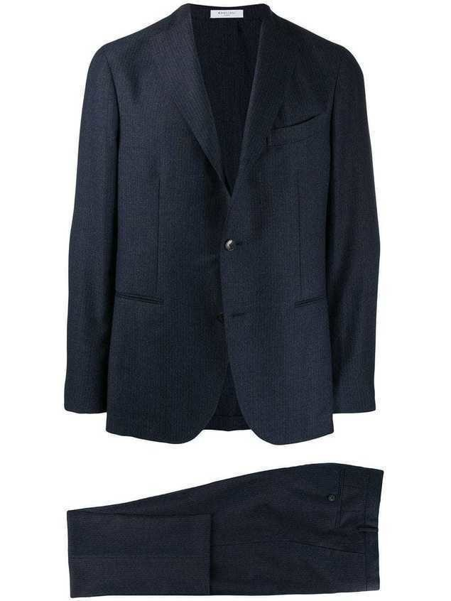 Boglioli formal suit - Blue
