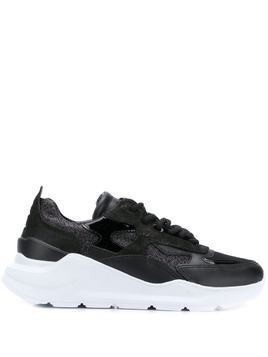 D.A.T.E. chunky sole sneakers - Black