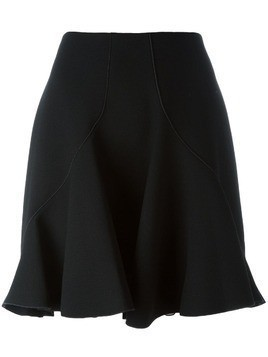 Giambattista Valli ruffled skirt - Black