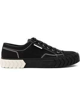 Both low-top sneakers - Black
