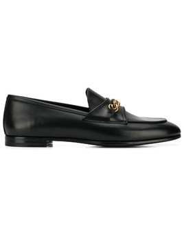 Tom Ford chain loafers - Black
