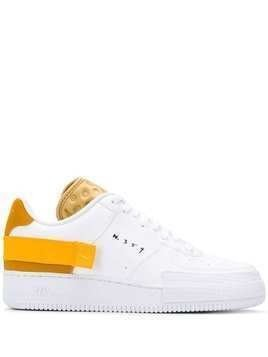 Nike Air Force 1 metallic detail sneakers - White
