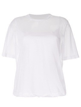 Kuho sheer round neck T-shirt - White