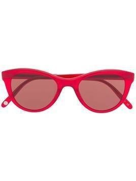 Garrett Leight cat eye sunglasses - Red