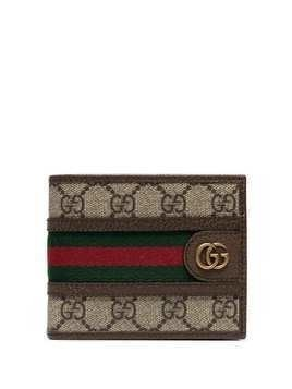 Gucci Ophidia GG Supreme wallet - Brown
