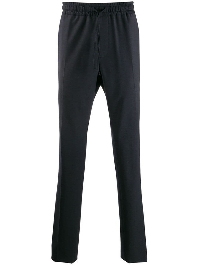Versace straight-leg track pants - Blue