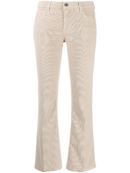 Haikure cropped flared trousers - NEUTRALS