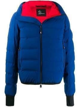 Moncler Grenoble hooded down jacket - Blue