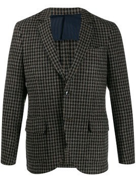 MP Massimo Piombo button up jacket - NEUTRALS
