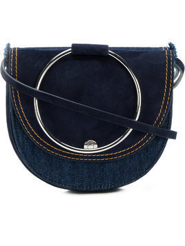 Theory foldover satchel bag - Blue