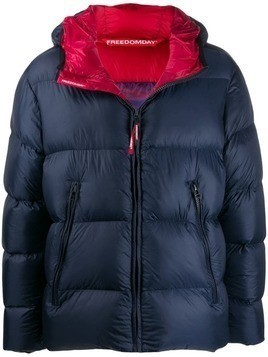 Freedomday Red Label down jacket - Blue