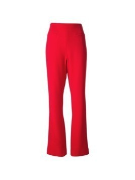 Jean Louis Scherrer Pre-Owned flared trousers