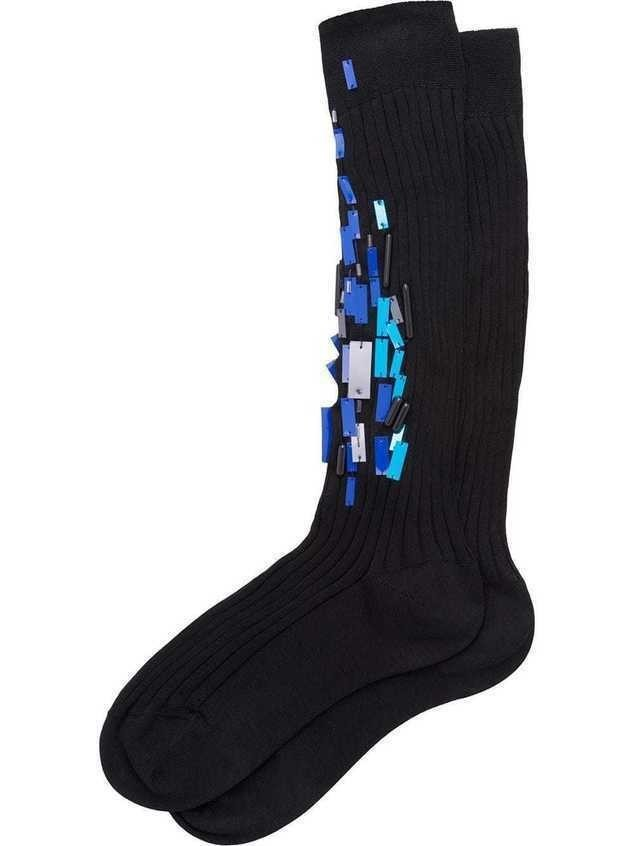 Prada Lisle socks - Black