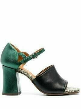Chie Mihara Paris block-heel sandals - Green