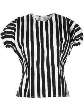 Beaufille striped Ivey blouse - Black