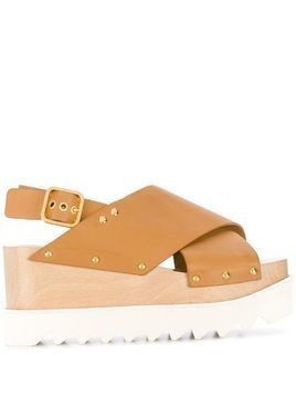 Stella McCartney Elyse sandals - Neutrals