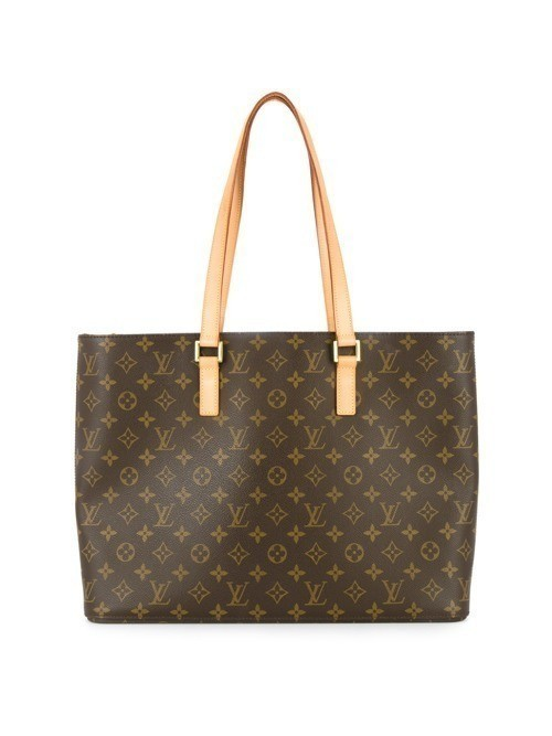 Louis Vuitton Vintage Luco monogrammed shoulder tote - Brown