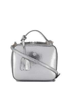 Mark Cross Baby Laura crossbody bag - Silver