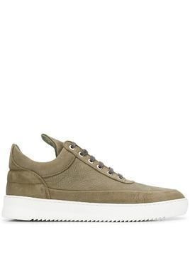 Filling Pieces ankle lace-up sneakers - Green
