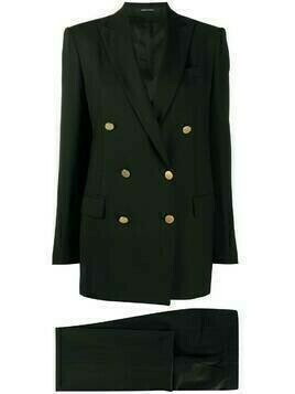 Tagliatore Jasmine double breasted suit - Black
