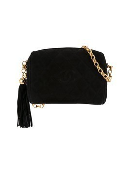 Chanel Vintage bijou chain fringe bag - Black