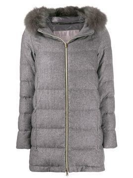 Herno quilted parka jacket - Grey
