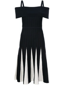 Kimora Lee Simmons off-shoulder knit dress - Blue