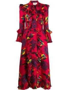 La Doublej Boho printed dress - Red