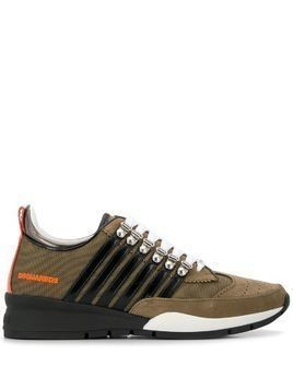 Dsquared2 251 multi-stripe sneakers - Brown