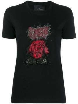 John Richmond Belize embellished T-shirt - Black