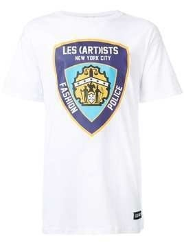 Les (Art)Ists 'Fashion Police' T-shirt - White