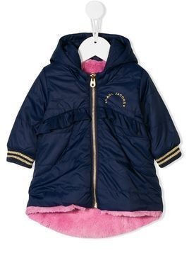 Little Marc Jacobs hooded rain jacket - Blue