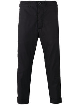 Casey Casey drop crotch trousers - Black