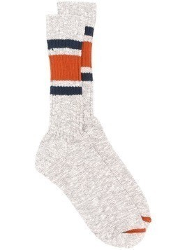 Bellerose stripe detail socks - Grey