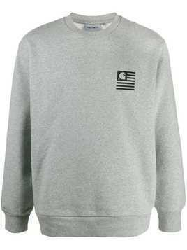 Carhartt WIP relaxed-fit plain sweatshirt - Grey