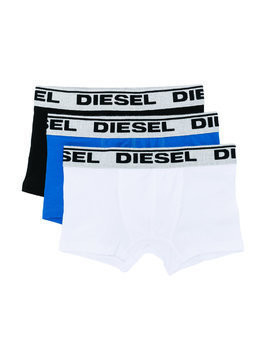 Diesel Kids pack of three briefs - Black