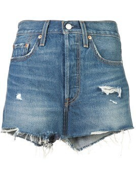 Levi's 501 high rise short - Blue