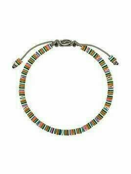 M. Cohen beaded sterling silver bracelet