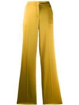Escada high waist flared leg trousers - Yellow