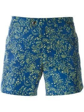 Jil Sander printed swim shorts - Blue