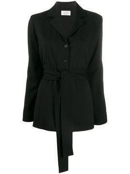 The Row Mel belted jacket - Black