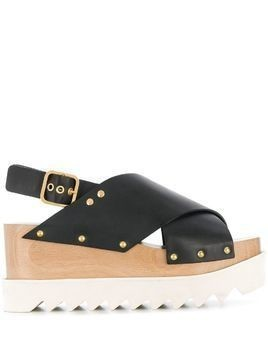 Stella McCartney Elyse sandals - Black