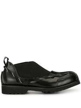 Craig Green chunky sole leather shoes - Black