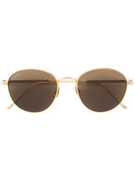 Cartier round frame sunglasses - Metallic