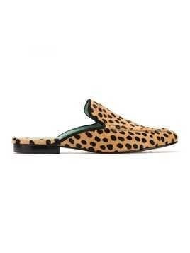 Blue Bird Shoes animal print slippers - Neutrals